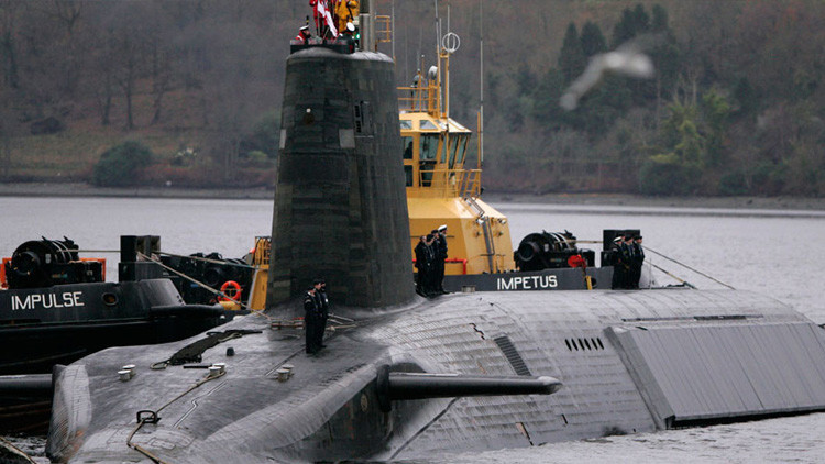 EE.UU. solicitó que Reino Unido encubriera el fracaso de la prueba con el misil balístico Trident