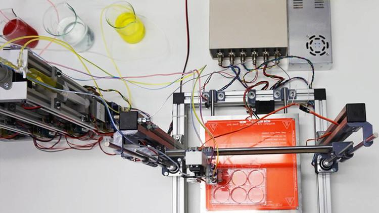 Científicos españoles desarrollan una bioimpresora 3D capaz de generar piel humana