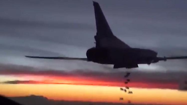 Seis bombarderos rusos despegados de territorio nacional atacan al Estado Islámico en Siria