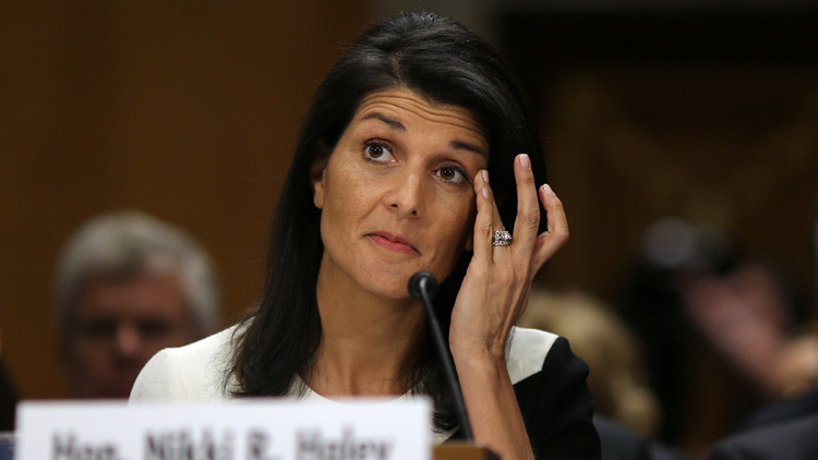 El Senado de EE.UU. confirma que Nikki Haley será la embajadora del país ante la ONU