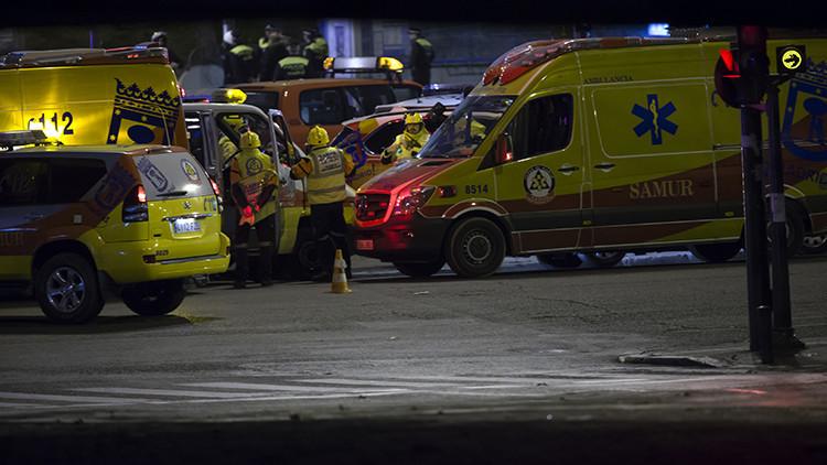 El conductor del accidente del autobús escolar en Madrid da positivo por cocaína