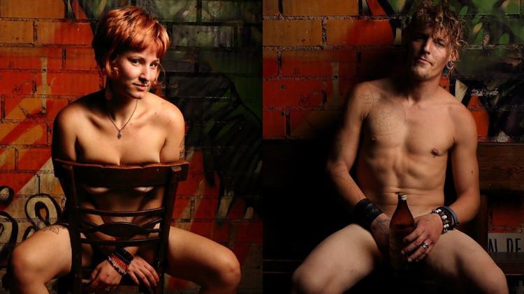 ¿Para qué se desnudan estos sintecho en España?