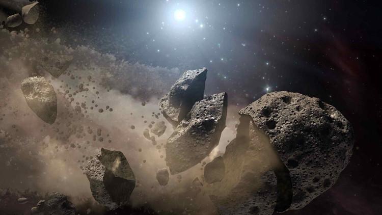 Un asteroide 'roza' la Tierra a una velocidad 10 veces más alta que una bala disparada con un AK-47