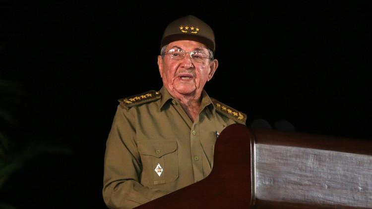 Raúl Castro: Cuba continuará negociando asuntos pendientes con el Gobierno de Donald Trump