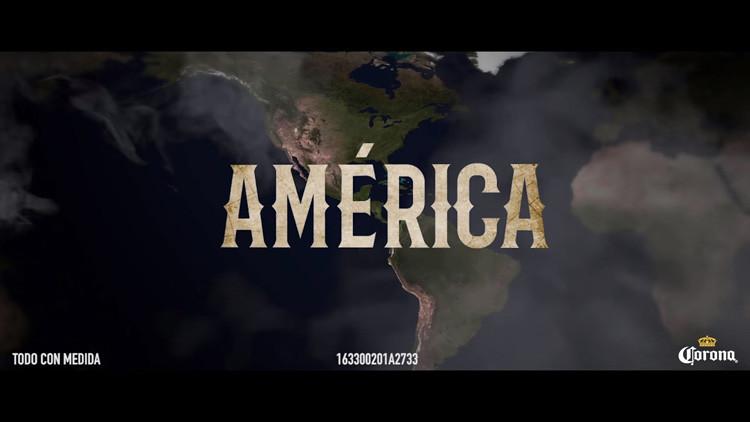 """El sabor de """"la América grande de nuevo"""": Usan el lema de Trump en anuncios de cerveza Corona"""