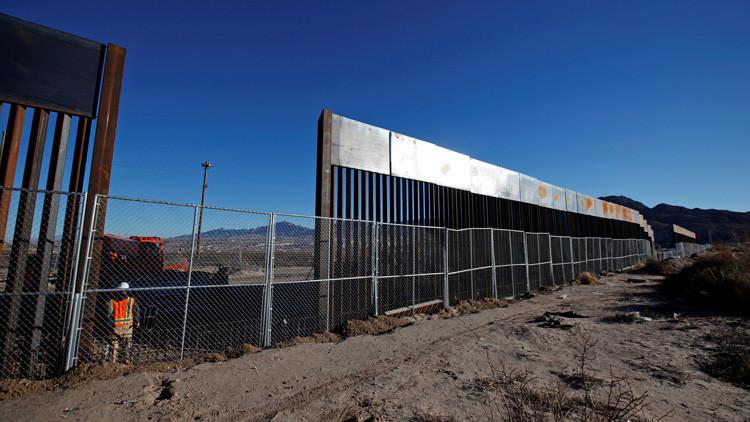 El Congreso de EE.UU. asignará fondos para la construcción del 'muro de Trump'