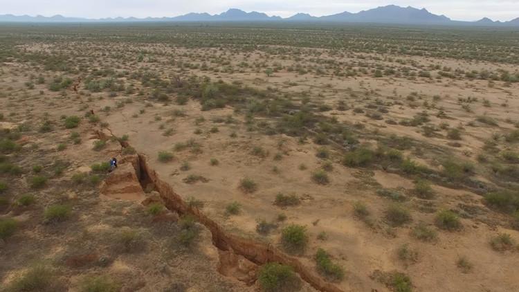 Filman la inmensa grieta que se extiende por el territorio del estado de Arizona (VIDEO)