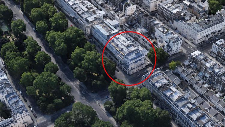 Activistas británicos se apoderan de la mansión de un multimillonario ruso en Londres