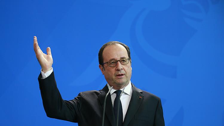 """Hollande: """"La Administración Trump es un 'desafío' para Europa"""""""