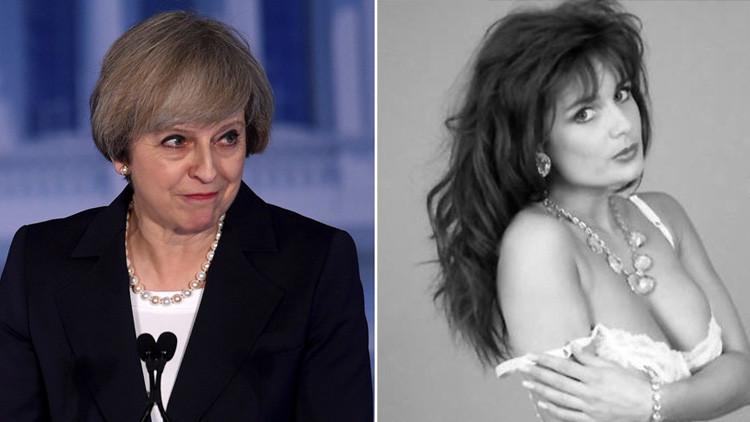 ¿Ha confudido la Casa Blanca a la primera ministra británica con una estrella porno?