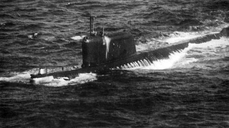 EE.UU. retirará los restos abandonados del submarino soviético usado en la película 'K-19'