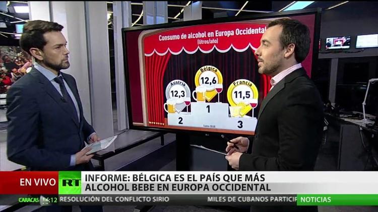 Revelan cuál es el país donde se consume más alcohol en Europa