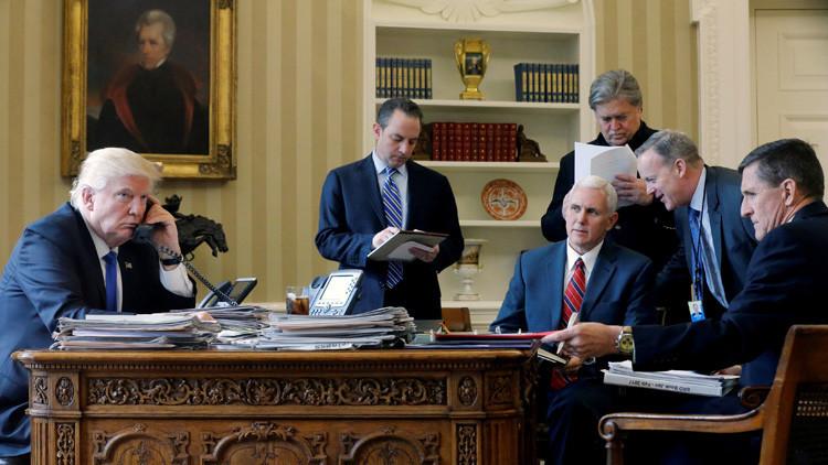 La Casa Blanca: La conversación de Putin y Trump es un arranque positivo para mejorar las relaciones