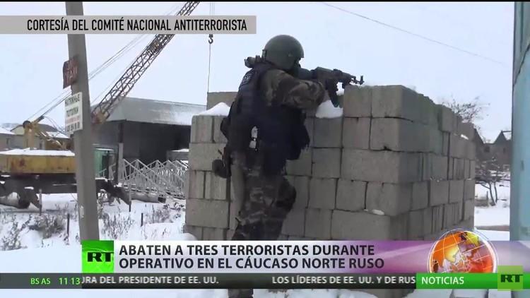 Abaten a 3 terroristas durante un operativo de seguridad en el Cáucaso Norte ruso