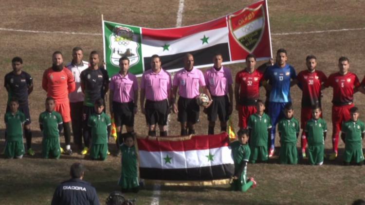 Video: Alepo celebra su primer partido de fútbol tras cinco años de guerra