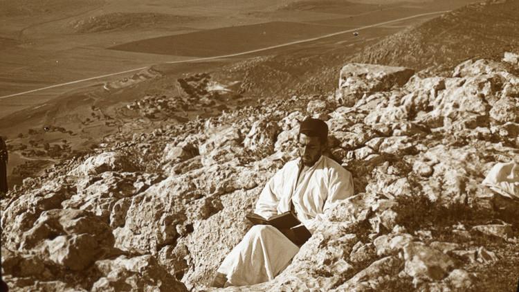 Colección de paisajes bíblicos de principios del siglo XX