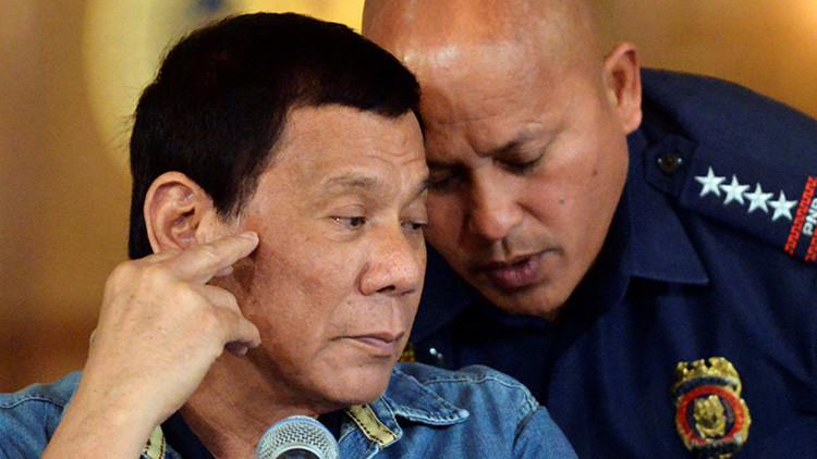 """La Policía filipina suspende su operativo antidrogas y declara la guerra a los policías """"canallas"""""""