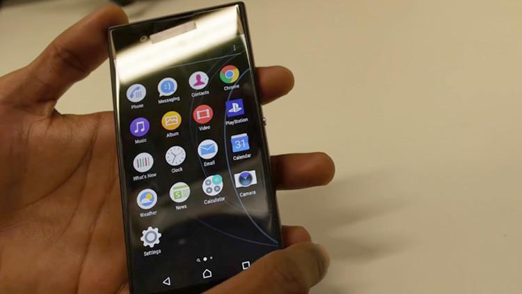 Video: Filtran cómo será el 'smartphone' de nueva generación Sony Xperia XA 2017