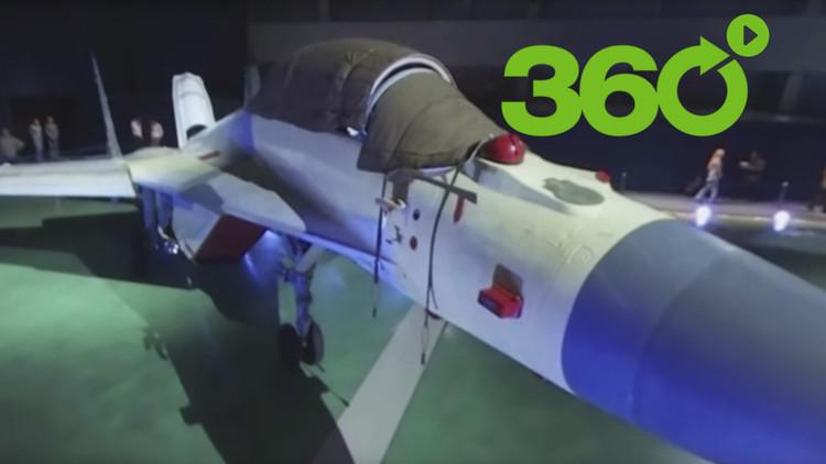 VIDEO: El nuevo caza ruso Mikoyan MiG-35 en 360º