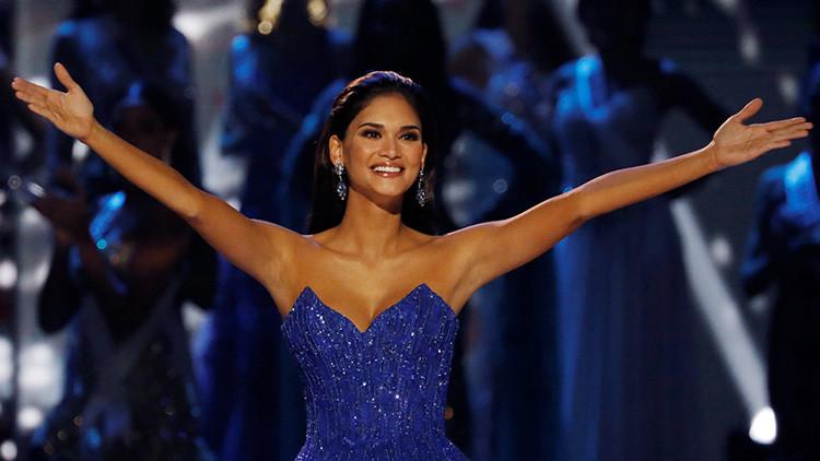 Así se vengó la ex Miss Universo un año después del presentador del certamen (VIDEO)