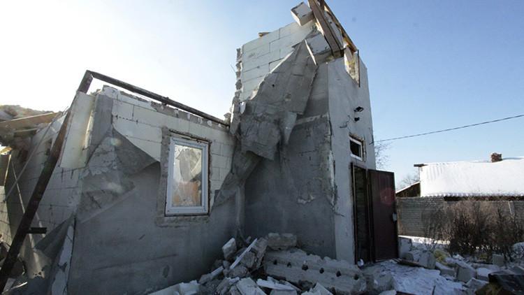 Los '1.000 proyectiles' disparados por Ucrania dejan varios muertos en Donbass