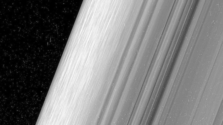 Fotos: Registran los anillos de Saturno con un nivel de detalle sin precedentes