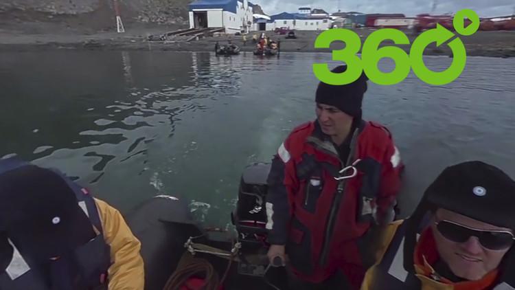 Conozca la Antártida Argentina en verano con RT en 360°