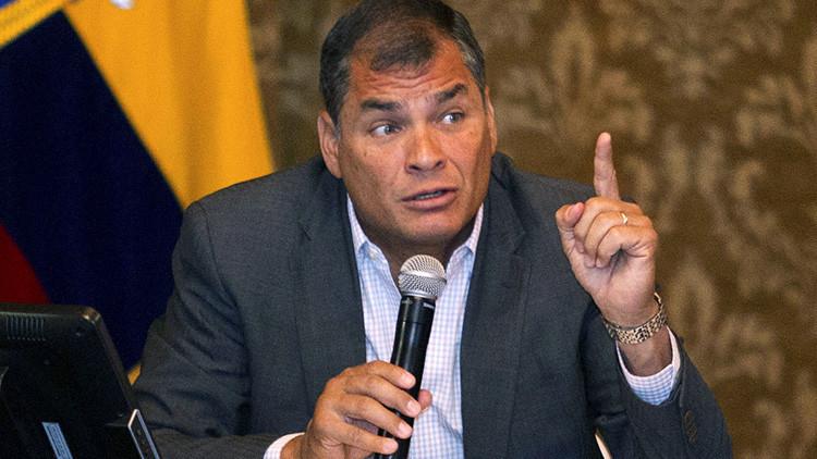 """Correa pide una respuesta """"frontal"""" de América Latina a las medidas antimigratorias de Trump"""