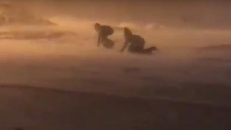 La 'ventisca negra' paraliza la ciudad rusa más septentrional del mundo (Video, fotos)