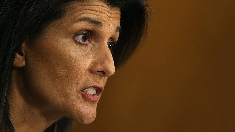 """""""Inaceptable"""": la embajadora de EE.UU. en la ONU condena la prueba del misil balístico en Irán"""