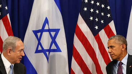 Imagen de archivo: el presidente de EE.UU., Barack Obama, en una reunión con el primer ministro israelí, Benjamín Netanyahu, en Nueva York, el 21 de septiembre de 2016.