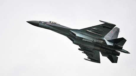 El 'Sukhoi' Su-35 (Flanker-E, según la designación de la OTAN).