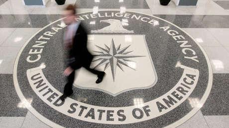El vestíbulo del edificio de la sede de la CIA en McLean, Virginia, 14 de agosto de 2008.