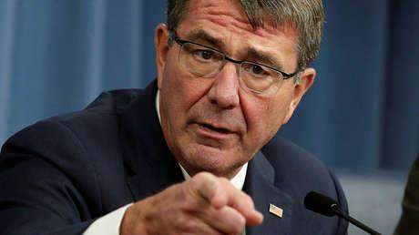 El secretario de Defensa de EE.UU., Ashton Carter