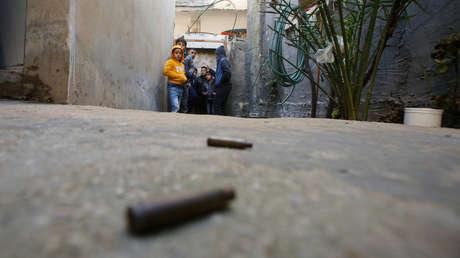 El campo de refugiados Al-Faraa, en Cisjordania