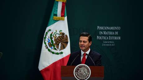El presidente de México, Enrique Peña Nieto, en Ciudad de México, 23 de enero de 2017