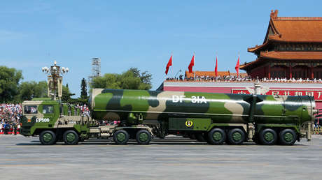 El misil intercontinental balístico chino Dongfeng 31A