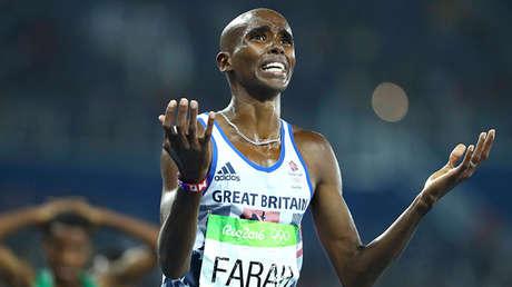El atleta Mo Farah