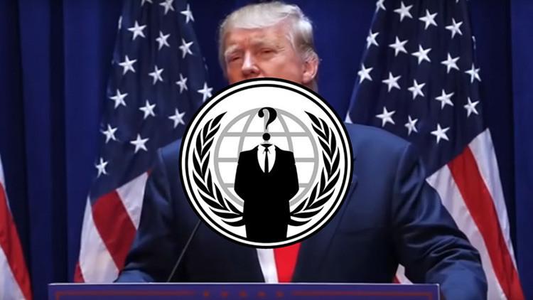 """Anonymous hace un llamado global """"contra la tiranía"""" de Trump y revela teléfonos de la Casa Blanca"""