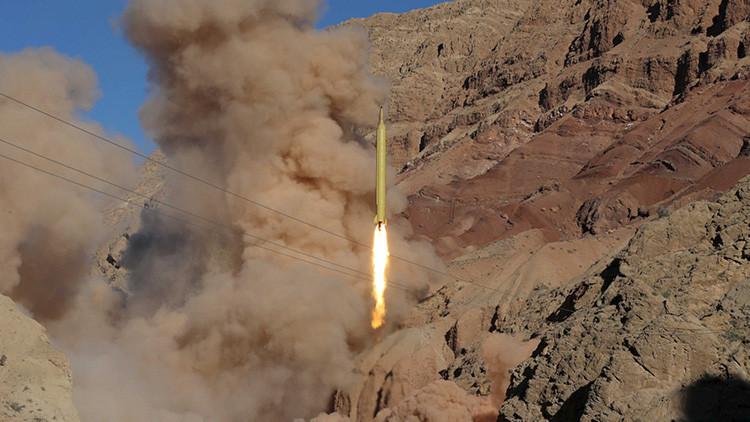 Irán confirma haber lanzado un misil balístico