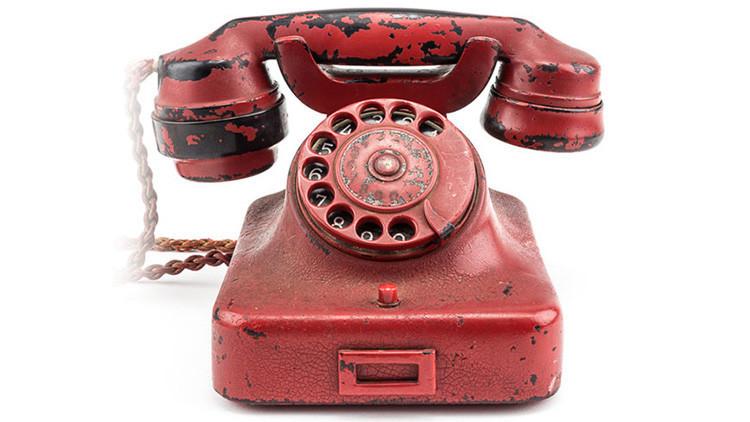 Subastan el teléfono rojo que Hitler usó para ordenar millones de muertes