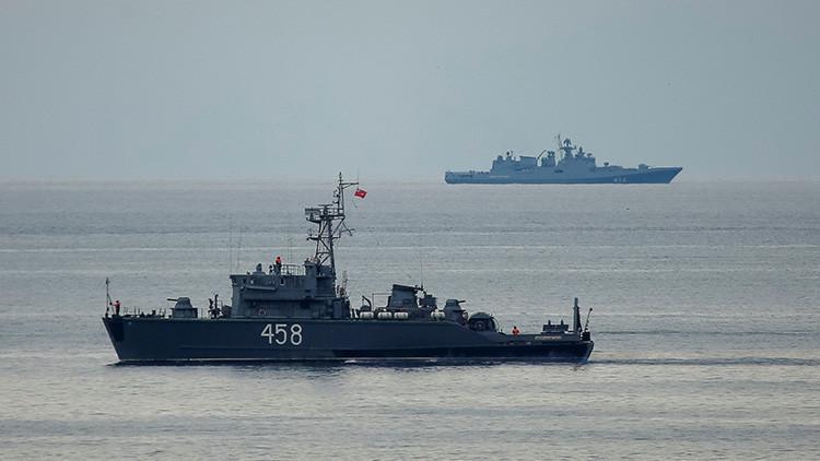 """La Armada de Rusia indica que las declaraciones de Ucrania sobre el ataque a su avión son """"mentira"""""""