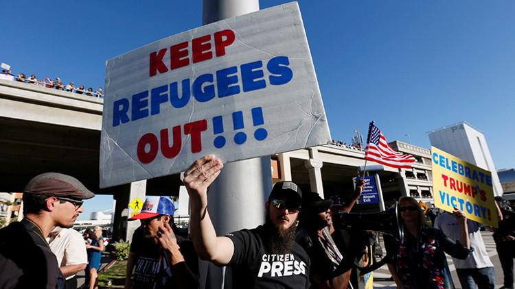 La mayor parte de los estadounidenses apoya el veto migratorio de Donald Trump
