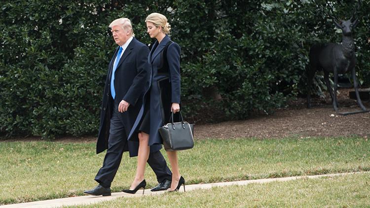 ¿Por qué Trump y su hija Ivanka abandonaron repentinamente la Casa Blanca en helicóptero?