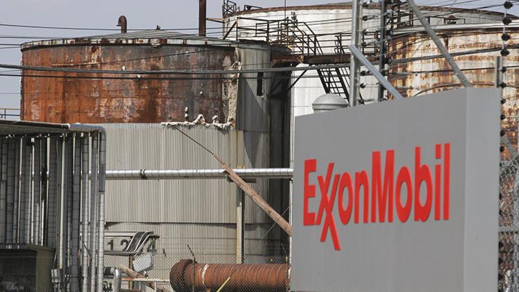 Una plataforma de ExxonMobil derrama petróleo en Australia