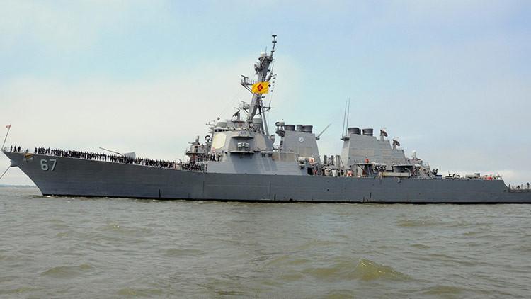 EE.UU. envía un destructor a las costas yemeníes tras un ataque de rebeldes a un buque saudita