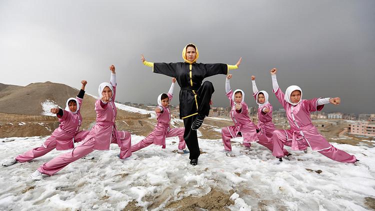Espíritu rebelde: mujeres afganas practican un arte marcial de Shaolin a pesar de las prohibiciones