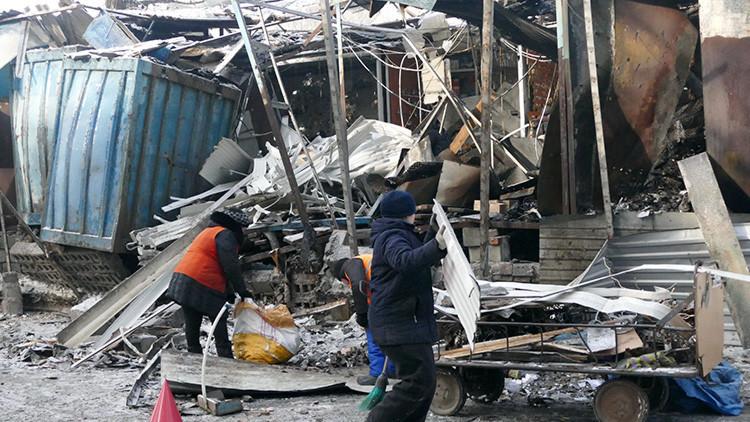 RT revela cómo civiles de Donetsk sobreviven en la escalada del conflicto