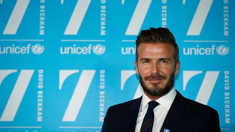 ¿Se aprovechó David Beckham de su puesto en Unicef para obtener el título de 'sir'?
