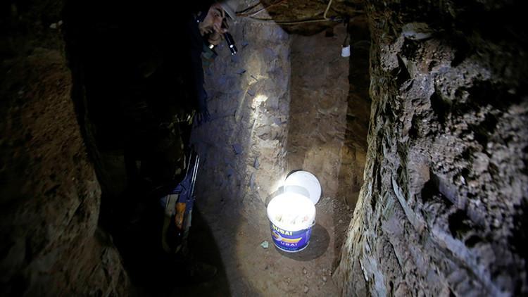 Así son los túneles del Estado Islámico cavados por esclavos cristianos en Irak (Video)